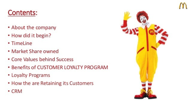 mcdonalds customer loyalty in india This statistic shows the american customer satisfaction index scores of mcdonald's restaurants in the united states from 2000 to 2018 mcdonald's acsi score was 69 in 2018.