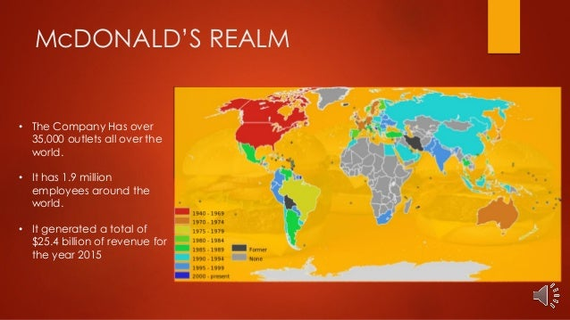 Case Study On Mcdonald S