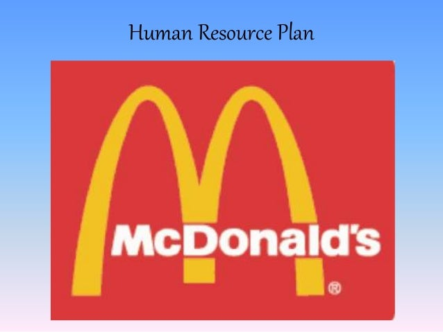 Mcdonalds hrm policy