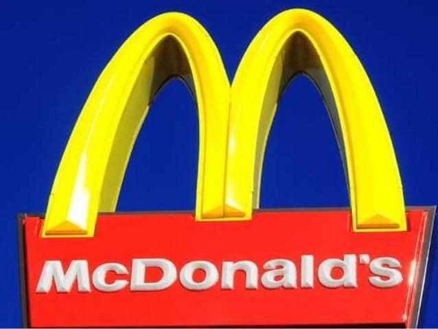 GERENCIAMENTO DA CADEIA DE FORNECIMENTO McDonald s Brasil