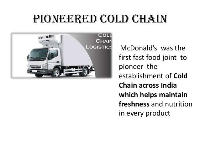 Mcdonald inbound logistics