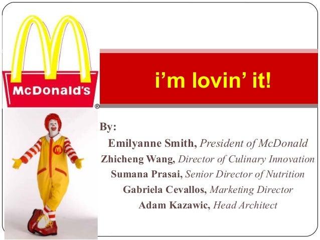 By:Emilyanne Smith, President of McDonaldZhicheng Wang, Director of Culinary InnovationSumana Prasai, Senior Director of N...