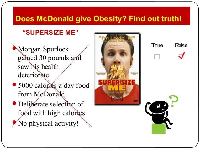 supersize me reaction By: maddie roppel, suha lim, and gabriella demma super size- me a reaction why do students deserve healthy more nutritious meals the kids deserve more nutritious meals because some kids are really obese because they dont eat healthy and if all the kids are obese thats not good for their health and.
