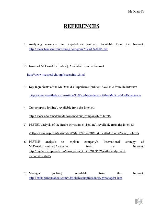 Dissertation credits
