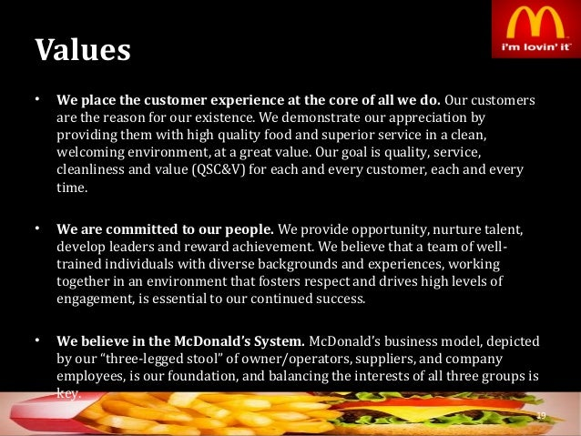 business structure of mcdonalds corporation Franchising and the impact, page 1 franchising and the impact of mcdonald's gerhardt,  mcdonald's corporation fee structure.