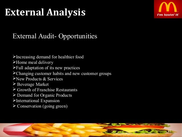 financial analysis of mcdonalds Free essay: mcdonald's & wendy's financial statement comparison financial statement analysis project the two companies that i will be comparing in this.