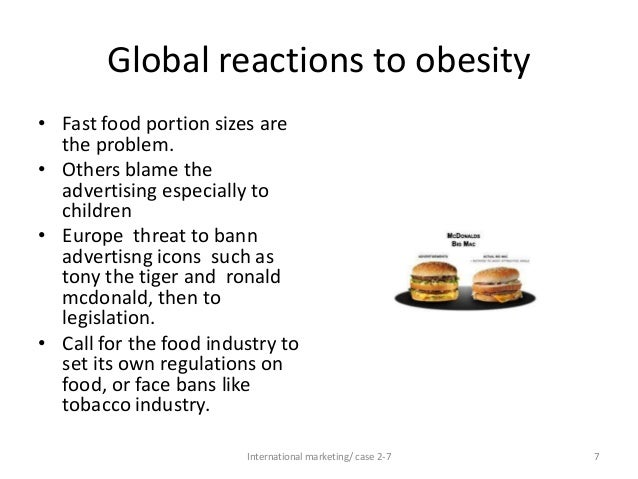 Do Fast Food Restaurants Contribute to Obesity?