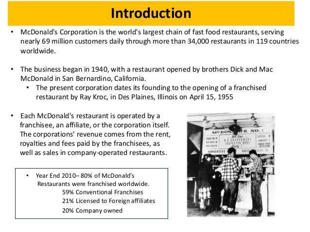 mcdonalds case study strategic management Mcdonald's and the environmental defense fund: a case study of a the journal of management studies, 34 mcdonald's and the environmental defense fund.