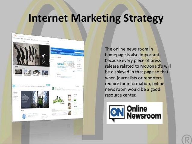 mcdonalds marketing plan Mcdonald's has revived mcmoms, a direct marketing program targeting mothers that first debuted in 1994 the new mcmoms effort will feature an online newsletter offering tips on parenting, women's health and nutrition.