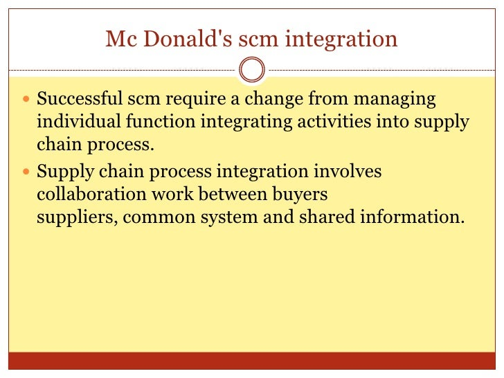 mcdonalds procurement stategy What went wrong with the mcdonald's procurement process strategic sourceror on monday, august 18, 2014 lack of communication and infrequent auditing likely contributed to the mcdonald's meat scandal that has garnered a lot of press attention as of late.