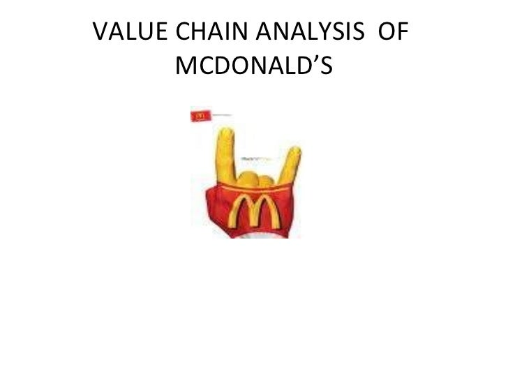 improving logistics at mcdonalds Value chain analysis is a strategy tool used to analyze internal firm activities evaluate the differentiation strategies for improving customer value managers can use the following strategies to increase product differentiation and customer value.