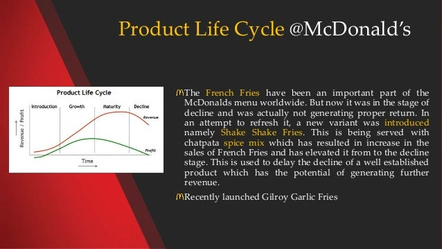 life cycle of mcdonalds Mcdonald's is an american fast food company, founded in 1940 as a restaurant  operated by richard and maurice mcdonald, in san bernardino, california,.
