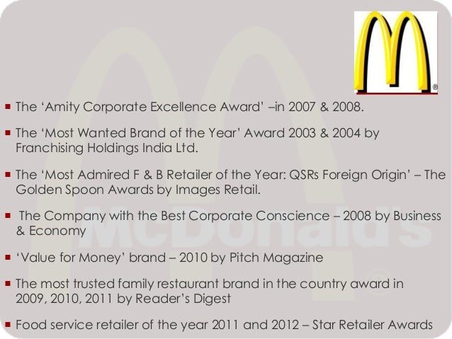 mcdonalds corporate social responsibility Visit mcdonald's corp website: follow mcdonald's corp on mcdonald's usa: corporate social responsibility - making progress | sustainability | mcdonald's category news & politics license standard.