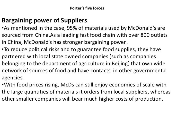 mcdonald s is china lovin it Mc donalds is china loving itppt 1 mcdonald's: is chinaloving it 2 opportunities:•growing income and purchasing power of chinese •by.