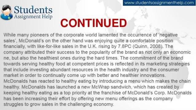 McDonald's Success Strategy And Global Expansion Through Customer And Brand Loyalty