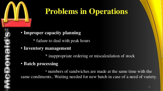 operating issues in mcdonalds in malaysia News about the mcdonald's corporation commentary and archival information about the mcdonald's corporation from the new york times.