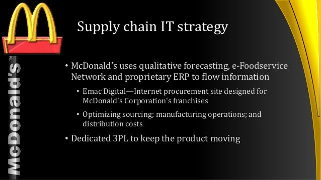 mcdonald s presentation rh slideshare net mcdonalds operational manuals operations mcdonalds franchise operations manual