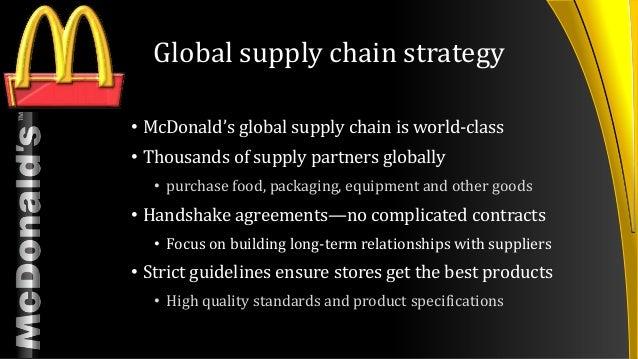 mcdonald s presentation rh slideshare net mcdonalds franchise operations manual mcdonald's operations manual pdf
