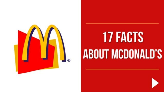 17 facts about McDonald's