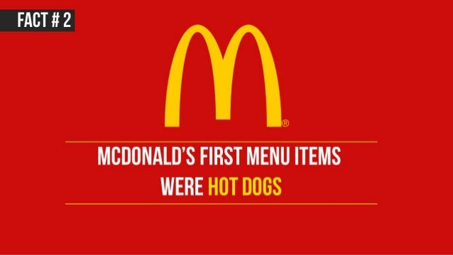 17 facts about McDonald's Slide 3