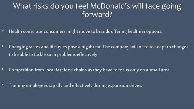 mcdonald case study problems Mcdonald's: an in-depth case study of a fast food &  other health problems3 this suit was quickly withdrawn as mr hirsch pursued a near identical suit on.
