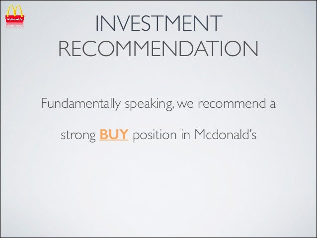 mcdonalds philippines case analysis We will address these efforts and the company' s potential by performing an easy -to-follow swot analysis of the company, evaluating its.
