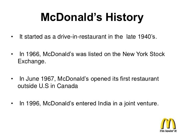 stock management in mcdonalds Get mcdonald's corp (mcd:nyse) real-time stock quotes, news and financial  information from cnbc.