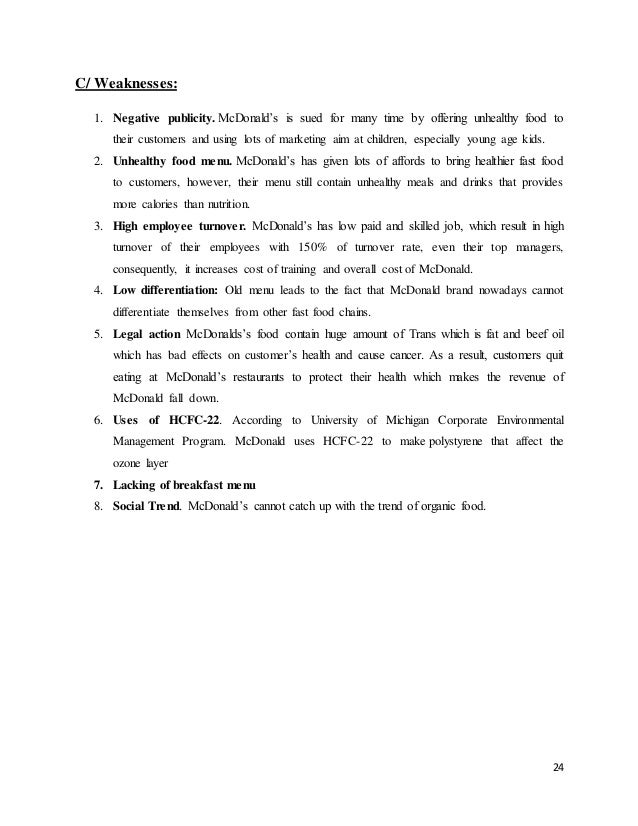 mcdonalds case essay Mcdonalds case study introduction mcdonald's is the most famous and well-known fast-food company in the world it was started by dick and mac mcdonald's in 1940 their concept of the restaurant was based on speed and therefore called 'speedee service system' in 1948, which in today's times is known as the fast food concept (wikipedia.