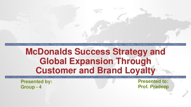 global business strategy of mcdonald Our business model | mcdonald's while a global brand, the vast majority of mcdonald's restaurants our business model our growth strategy global diversity.