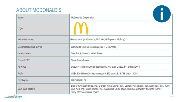 SWOT analysis of McDonald's (5 Key Strengths in 2018)