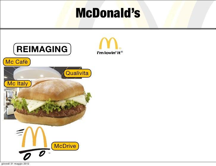 McDonald's           REIMAGING   Mc Cafè                            Qualivita    Mc Italy                         McDriveg...