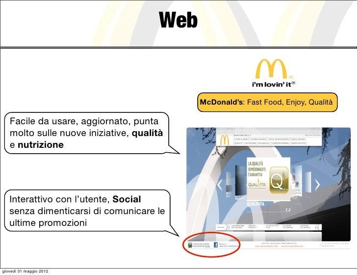 Web                                            McDonald's: Fast Food, Enjoy, Qualità   Facile da usare, aggiornato, punta ...
