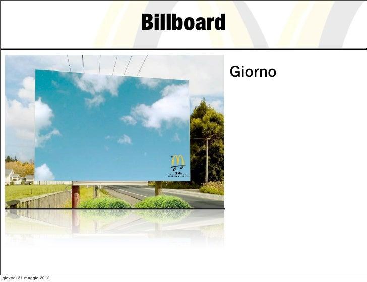 Billboard                                     Giornogiovedì 31 maggio 2012