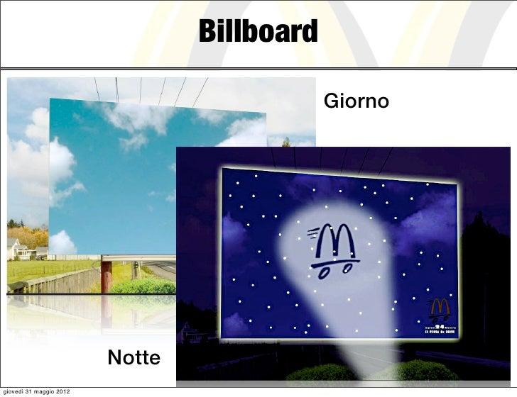 Billboard                                             Giorno                         Nottegiovedì 31 maggio 2012
