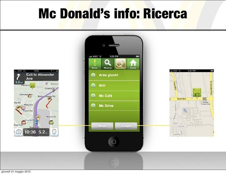 Mc Donald's info: Ricercagiovedì 31 maggio 2012