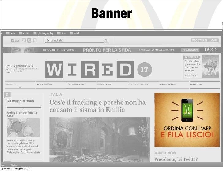Bannergiovedì 31 maggio 2012