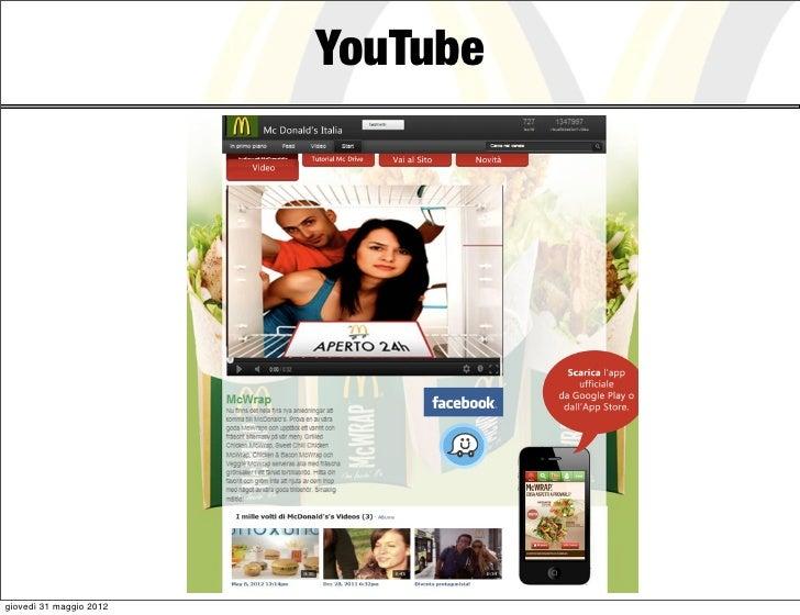 YouTubegiovedì 31 maggio 2012