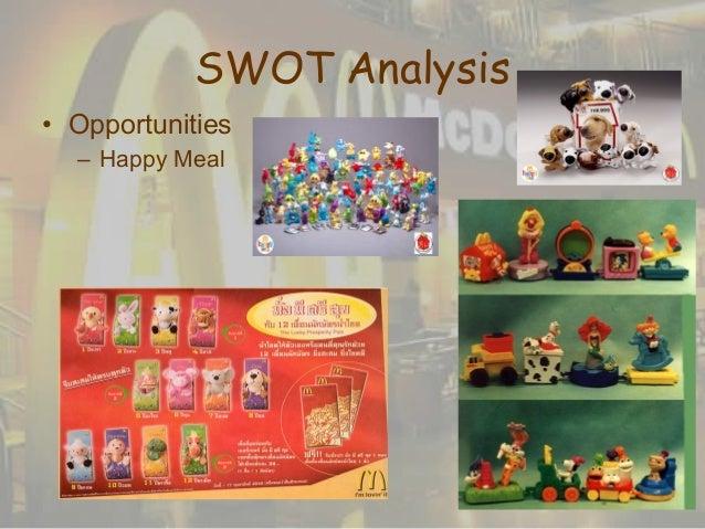 happy meal swot Dissertations gratuites portant sur swot mcdonalds pour les des enfants friands des derniers gadgets à la mode qu'ils retrouvent dans le « happy meal.