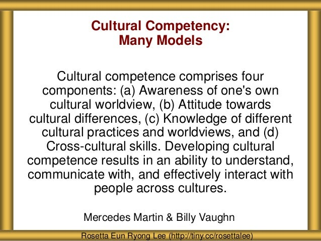 culture competence Start studying cultural competence learn vocabulary, terms, and more with flashcards, games, and other study tools.