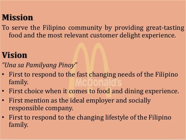 McDonald's Mission Statement & Vision Statement (An Analysis)