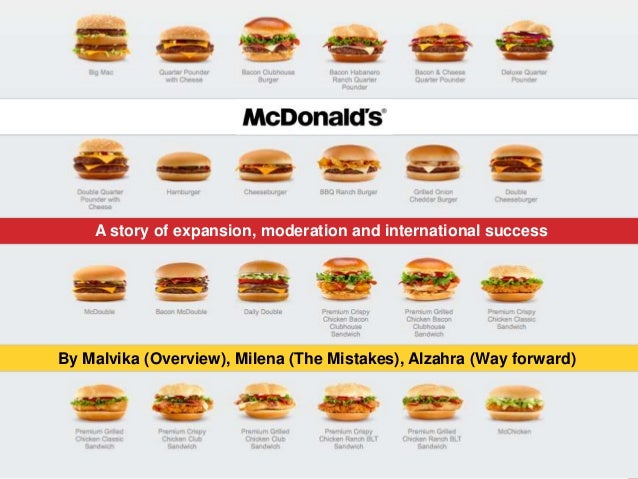 Change In Moderation >> McDonald's Marketing Mistakes Presentation