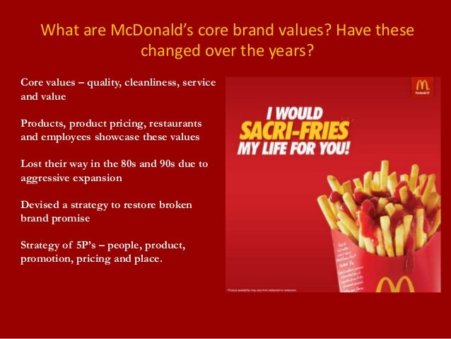 mcdonalds restaurant case study Mcdonald's have spotify for business implemented at all their restaurants in  sweden, so every restaurant play different music at all  read full case  study.