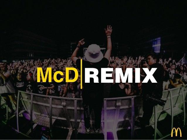 Big Idea: McDonald's Remix