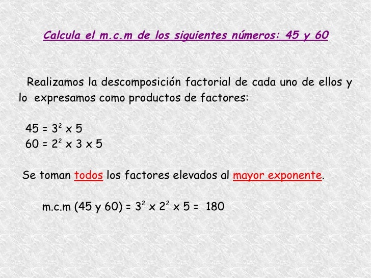 DESCOMPOSICIÓN DE UN NÚMERO EN FACTORES PRIMOS <ul><li>Descomponer un número en factores primos es ponerlo como un product...