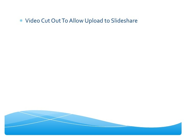 Video Cut Out To Allow Upload to Slideshare