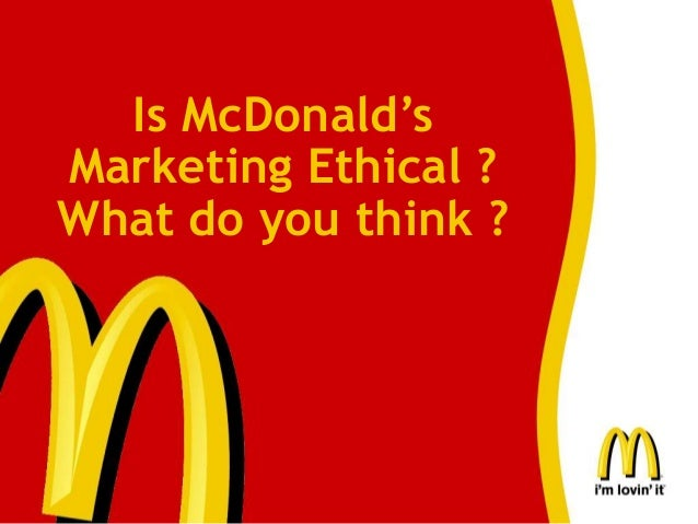 mcdonald ethical case study Mcdonald case study  about mcdonald rief history of mcdonald's the first mcdonald's was built in 1940 by the mcdonald brothers (dick and mac)  started off as a hot dog stand in ca [1937] the mcdonald brothers realized that hamburgers were their most profitable menu item, and changed their.