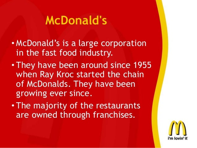 marketing ethics of mcdonald This paper will further investigate the ethics of mcdonald's and its  changed the  global food market thus destroying many local markets and.