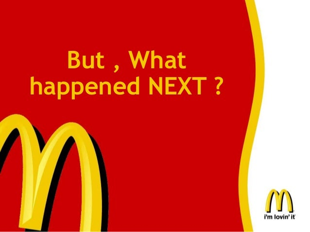 mc donalds and ethics The european compliance director is an international role based in conduct and the continuous improvement of mcdonald's compliance and ethics program.