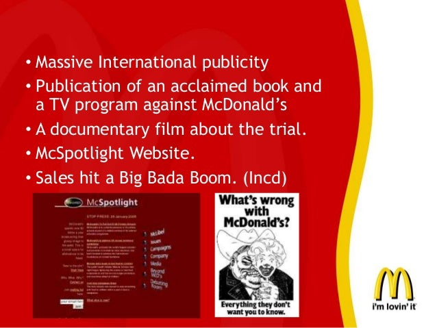 marketing ethics of mcdonald Ethical approach to fast food product contents and their advertisement strategies mustafa soba (mcgraw-hill, 2004) marketing ethics concern on rules that they are acceptable for marketing attributes ethical mcdonalds, kfc, and pizza hut etc.