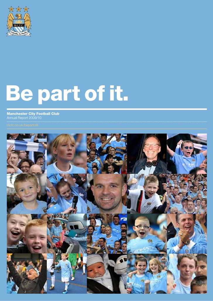 Manchester City Annual Report 2010